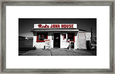 Red's Java House Of San Francisco Framed Print