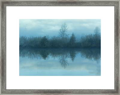 Reflections Framed Print by Cathy Anderson