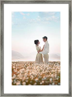 Regency Couple Framed Print by Lee Avison