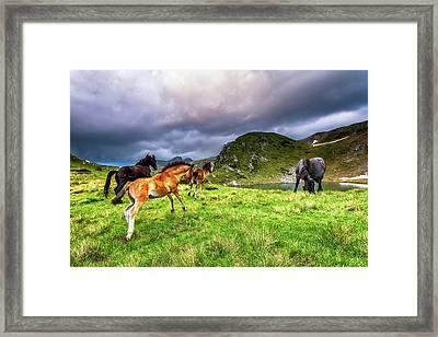 Rila Mountain Framed Print