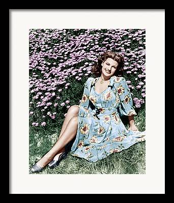 Flowered Dress Framed Prints