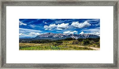 Rocky Mountain High Framed Print by Mountain Dreams