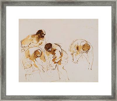 Royal Guercino Framed Print by MotionAge Designs