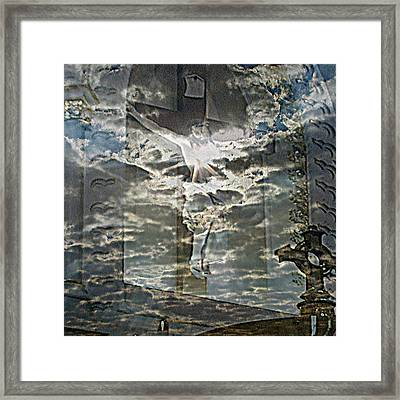 Saint Lucas Framed Print