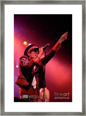 Scott Weiland  Framed Print by Jenny Potter
