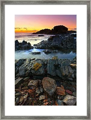 Second Valley Sunset Framed Print