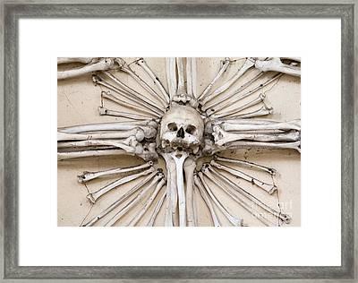 Sedlec Ossuary - Charnel House Framed Print