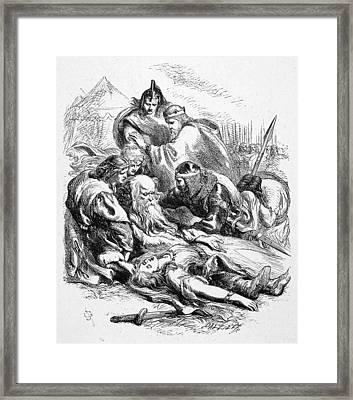 Shakespeare: King Lear Framed Print