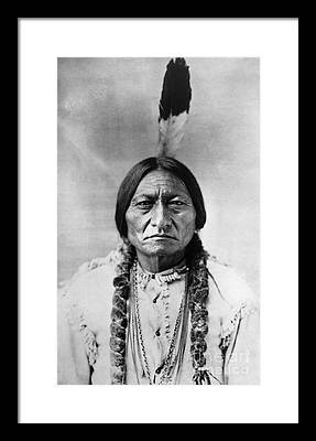 Indian Chief Framed Prints