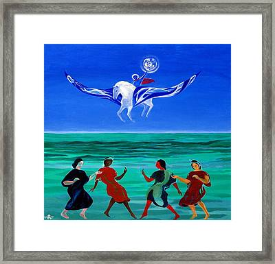 Sons Of The Sun Framed Print