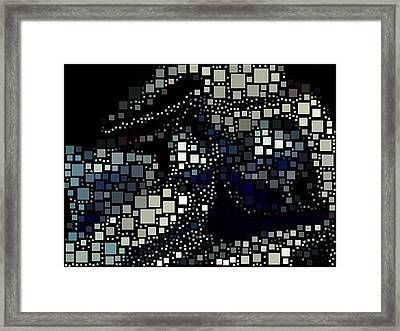 Squares Framed Print by HollyWood Creation By linda zanini