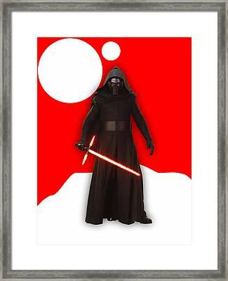Star Wars Kylo Ren Collection Framed Print