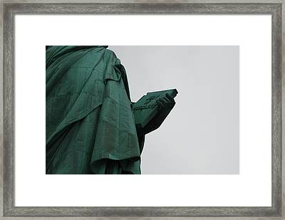 Statue Of Liberty Framed Print by Craig Fildes