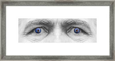 Stormy Angry Eyes Framed Print by James BO  Insogna
