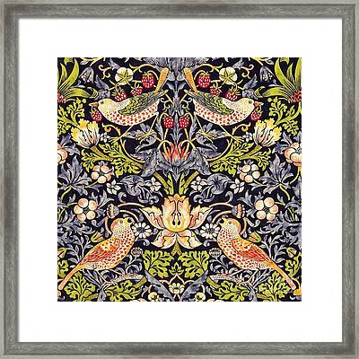 Strawberry Thief Framed Print
