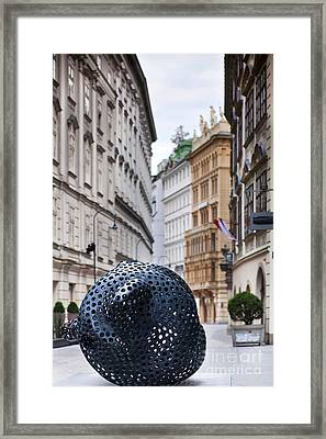 Streets Of Vienna Framed Print by Andre Goncalves