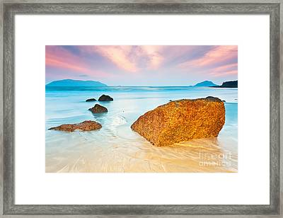 Sunrise Framed Print by MotHaiBaPhoto Prints