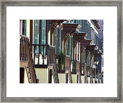 Sylvan Terrace Framed Print