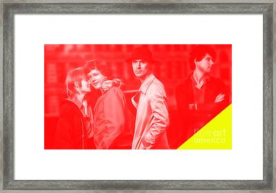 Talking Heads Collection Framed Print
