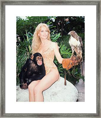 Tanya Roberts As Queen Sheena Framed Print by MMG Archives