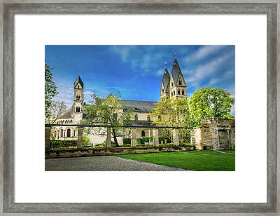 The Basilica St Kastor - Koblenz - Germany Framed Print