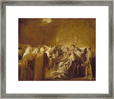 The Collapse Of The Earl Of Chatham Framed Print by John Singleton