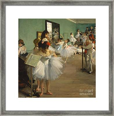 The Dance Class Framed Print