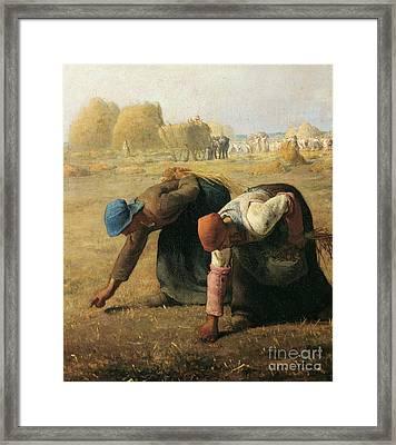 The Gleaners Framed Print