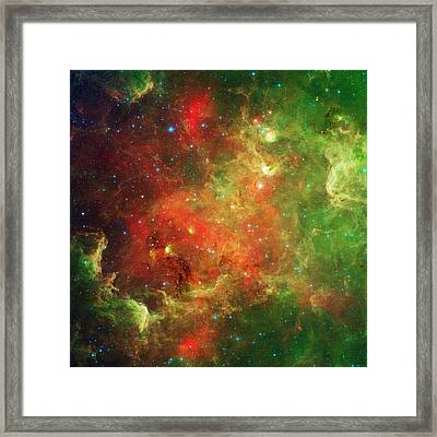 The North America Nebula Framed Print