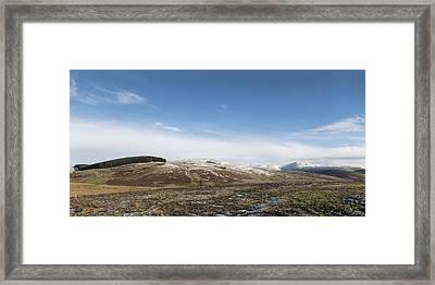 The Ochil Hills Framed Print