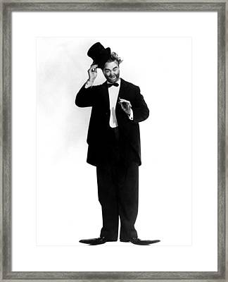 The Red Skelton Show, Red Skelton Framed Print