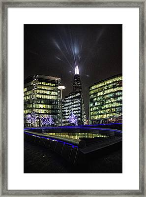 The Shard Framed Print by Martin Newman