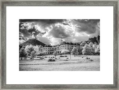 The Stanley Hotel Framed Print by G Wigler