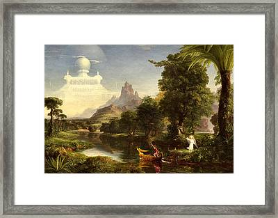 The Voyage Of Life, Youth Framed Print