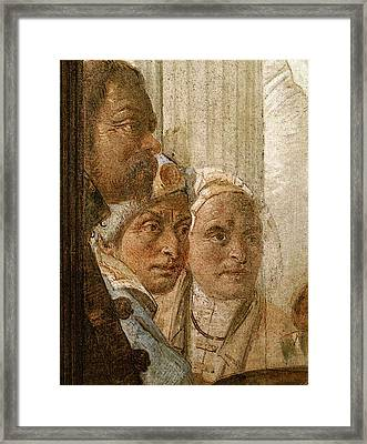 Tiepolo Palazzo Labia The Banquet Of Cleopatra  Framed Print