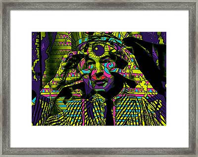 Timothy Leary Collection Framed Print