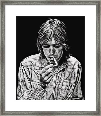 Tom Petty Collection Framed Print