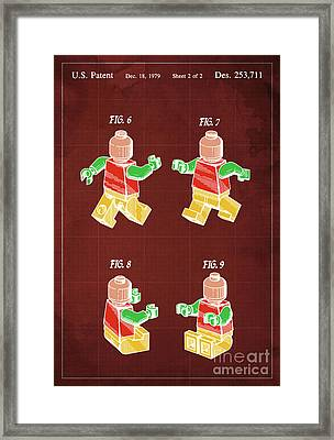 Toy Figure Patent Year 1979 Framed Print