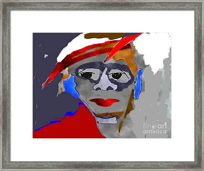 Untitled  Framed Print by Mimo Krouzian