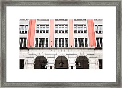 Urban Building   Framed Print by Tom Gowanlock