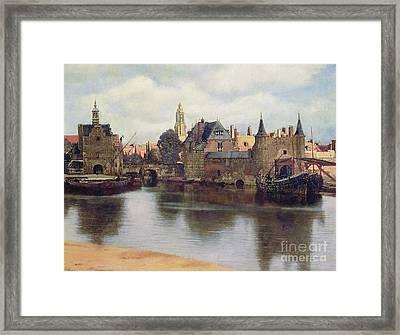 View Of Delft Framed Print