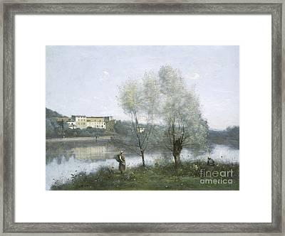 Ville D'avray Framed Print by Jean Baptiste Camille Corot
