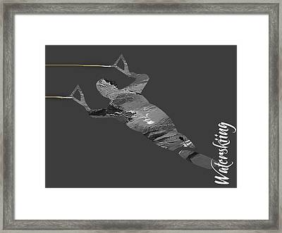 Waterski Collection Framed Print