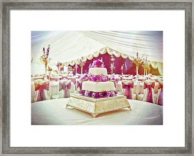 Wedding Cake Framed Print