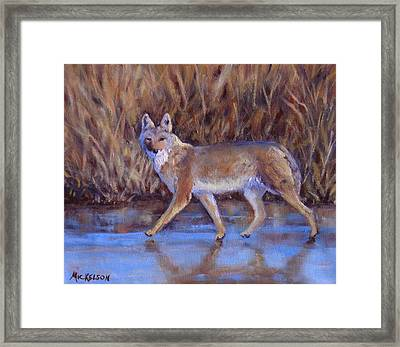 4 Wheelin' Framed Print by Debra Mickelson