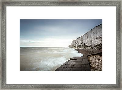 White Cliffs Of Dover Framed Print