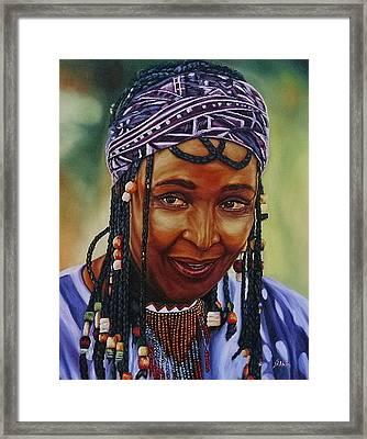 Winnie Mandela Framed Print by Shahid Muqaddim