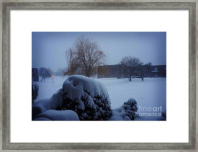 Winter Landscape  Framed Print by Celestial Images