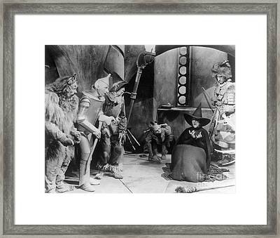 Wizard Of Oz, 1939 Framed Print by Granger