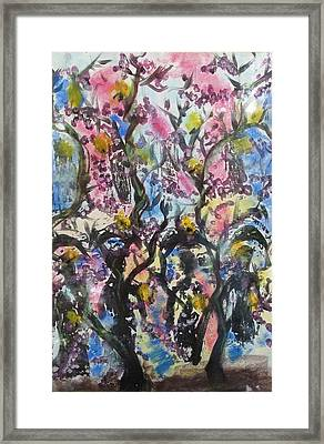 Women With Head Baskets Framed Print by Thomas Armstrong